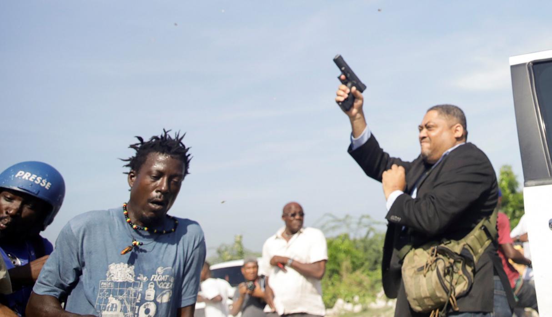 haiti senado heridos