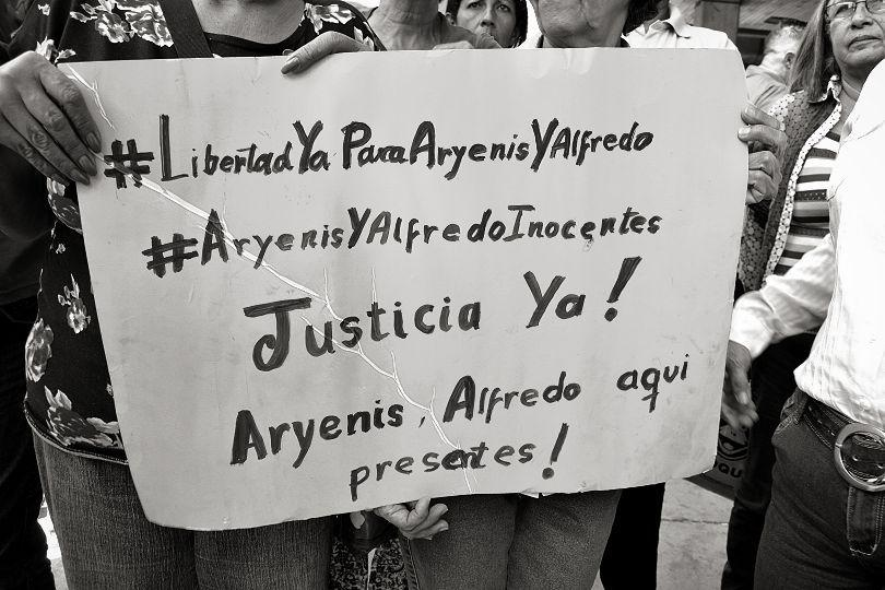 Justicia para Alfredo y Aryenis